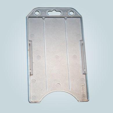 Kartenhalter Hartplastik vertikal