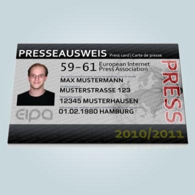 EIPA Presseausweis
